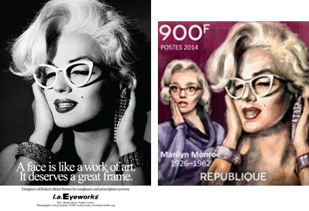 Coincidentally, if the stamp makers had better glasses, this whole thing could have been avoided.