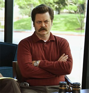 5 Strange Ways Actors Landed Iconic Roles | Nick Offerman as Ron Swanson in Parks and Recreation