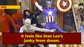 Here Are Marvel's Bonkers '80s Thanksgiving Floats; You're Welcome