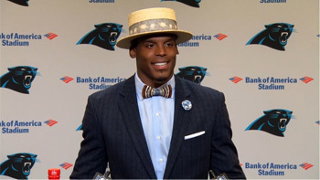 Cam Newton was alive in 1925, judging from his suits, and he'll be alive long after all of us.