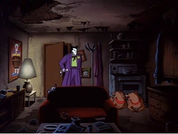 No One Was Ready For Mark Hamill's Joker ... Least Of All Mark Hamill | Joker's gross apartment in Batman The Animated Series