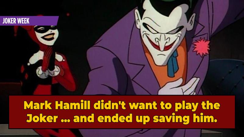 No One Was Ready For Mark Hamill's Joker ... Least Of All Mark Hamill