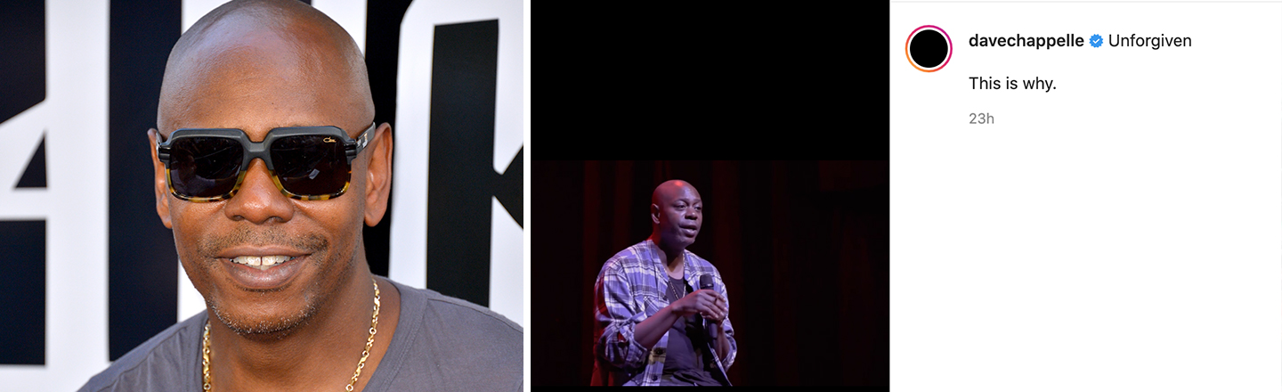 Dave Chappelle Has Netflix Pull 'Chappelle's Show,' Begs Fans To Boycott The Series