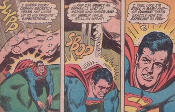 8 Famous Superhero Memes That Are Even Dumber In Context  Superman being spanked by his giant father