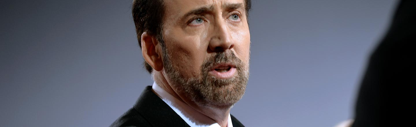 Nicolas Cage Went On A Weird Crusade To Find The Holy Grail