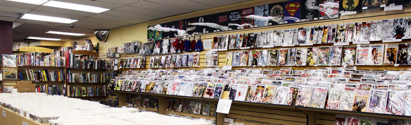 Comic Books Are Getting Totally Boned Right Now