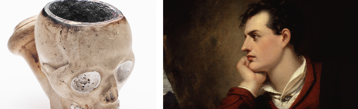 Lord Byron Had A Special Cup (Made From A Monk's Skull)