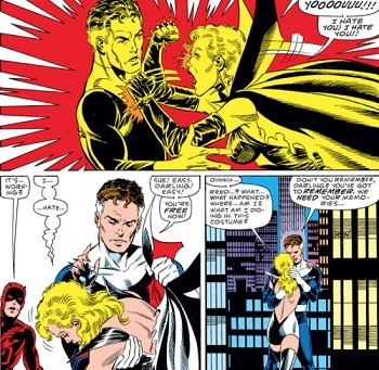 8 Famous Superhero Memes That Are Even Dumber In Context  Reed Richards arguing with Sue Storm