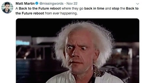 No One Actually Wants A 'Back To The Future' Reboot, Right?