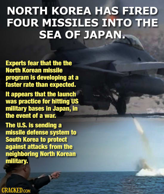 The 15 Most Insane Things Happening Right Now (3/14/17)