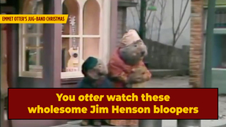 Behold, A Reminder That Jim Henson Bloopers Are Hilarious