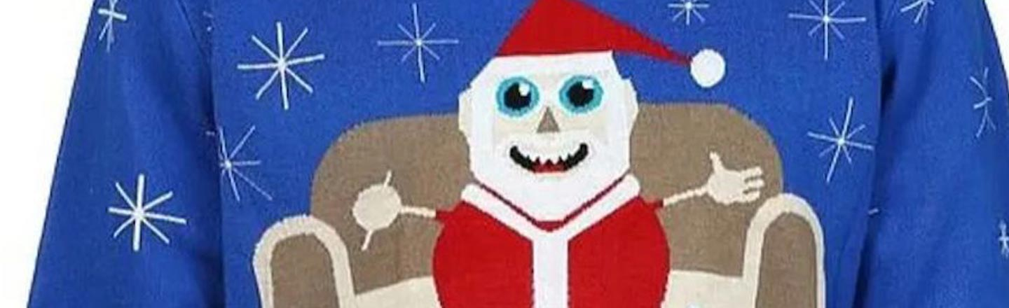 Walmart Is Too Lame To Pull Off That Cocaine Snowman Sweater