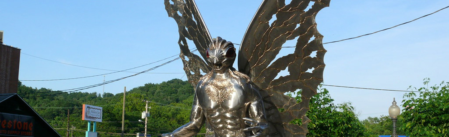 West Virginians Want To Tear Down Confederate Statues, Replace Them With Mothman