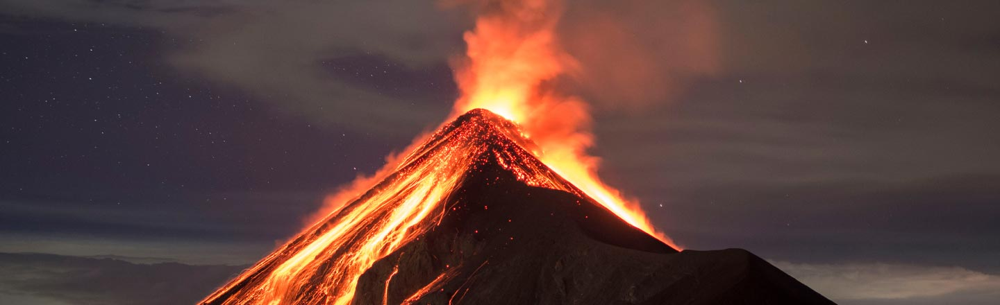 Volcanoes Can Blow Our Brains Out (And Into Glass)