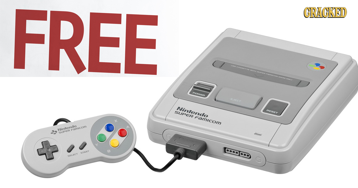 Kids In Japan Are Getting Free Super Nintendos. Step Up, America.