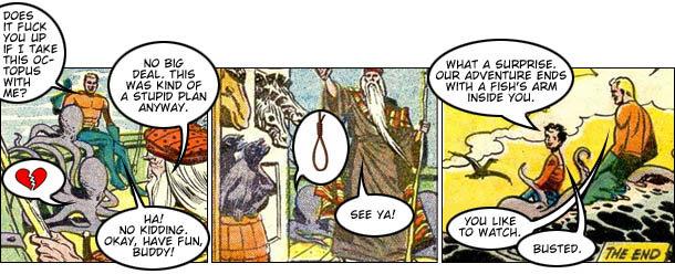 Aquaman Bible Stories Comic Cracked Com