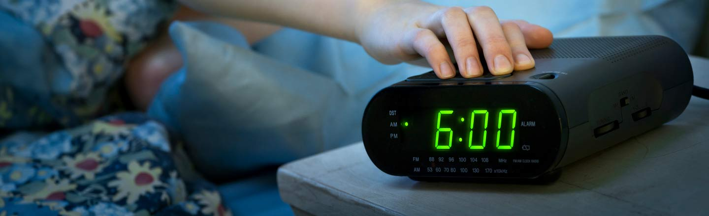 Apparently There's A 7 In The AM? 5 Horrid But Useful Habits