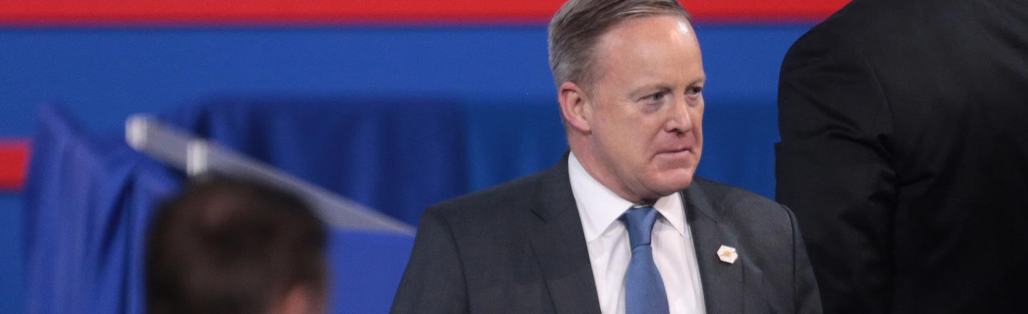 Why We Shouldn't Celebrate Spicer's Exit From The Podium