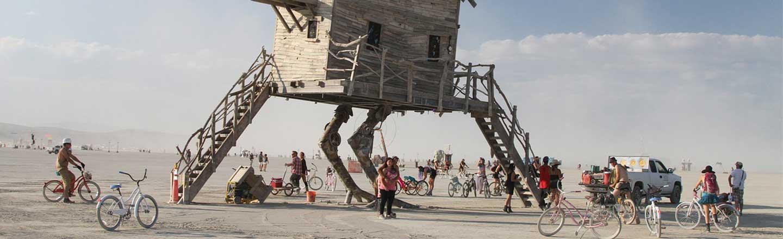 Burning Man Off, Burning Man The Multiverse Is On