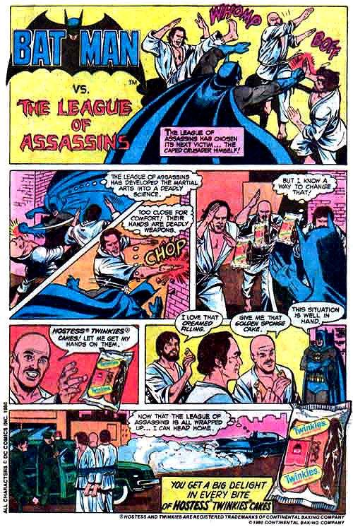 6 Insane Batman Comics Courtesy of Tasty Hostess Cupcakes