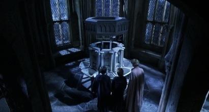 Hogwarts is such a terribly run school that random creepy boys somehow got a say in planning a girls' bathroom.