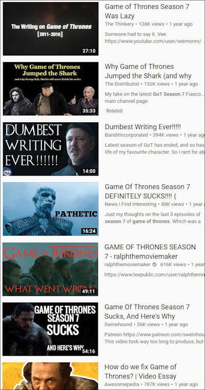 5 Reasons We Don't Appreciate 'Game Of Thrones' Enough
