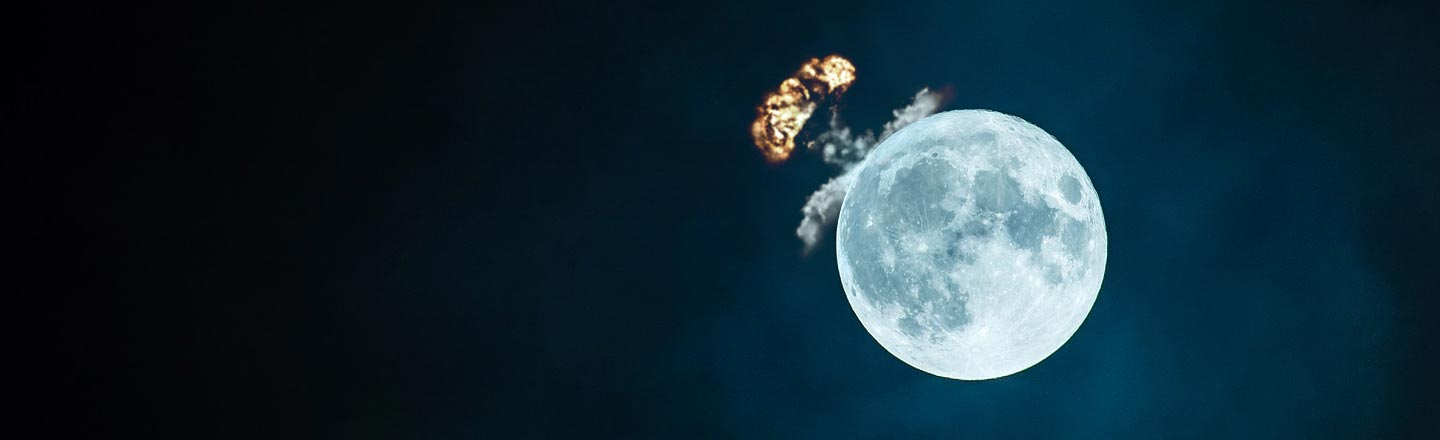 In The 1950s, America Wanted To Nuke The Moon