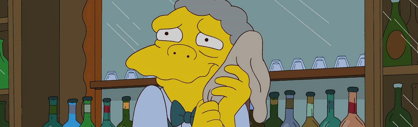 The Insane True Story Behind Moe From 'The Simpsons'