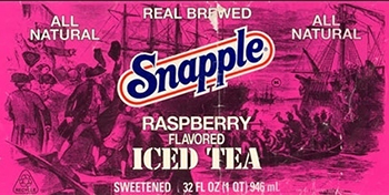 Just as we suspected. Raspberry: the most xenophobic of all sweetened teas.