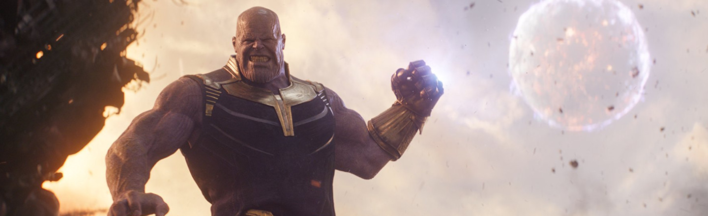 Thanos Is Warning People About The Virus In Bolivia