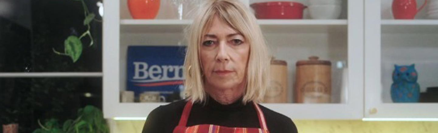 There Are A Bunch Of Questions About Kim Gordon's Super Tuesday PSA
