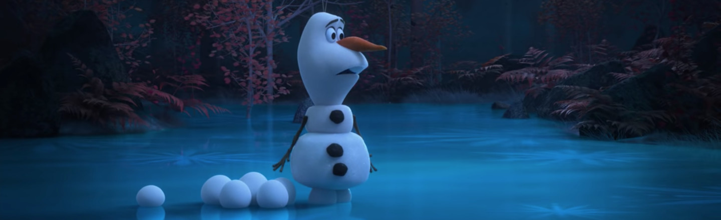 Parents Get Whopping 41 Seconds Of Relief, Thanks To Olaf