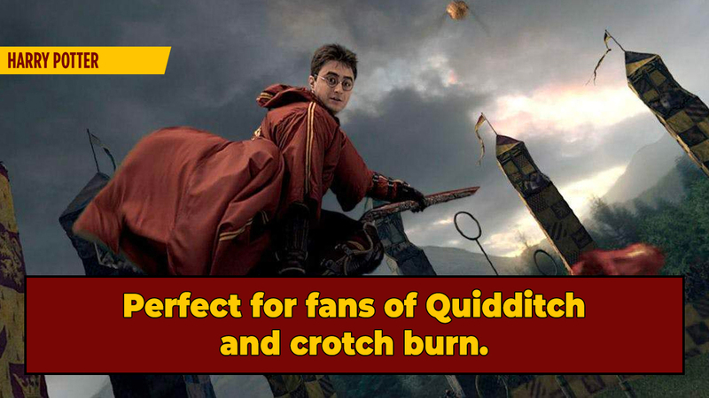 'Harry Potter' Fans Invented a Motorized Broomstick