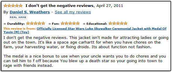 8 Impressively Sarcastic Amazon Product Reviews (Part 3)