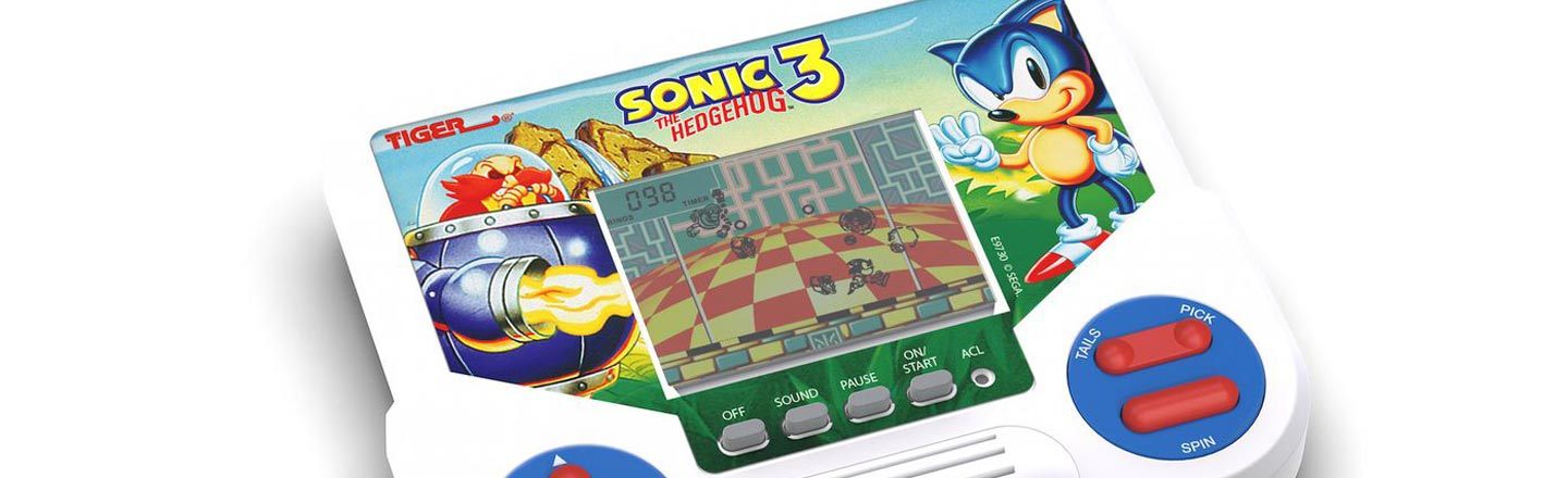 Hasbro is Bringing Back Those Awful '90s LCD Handheld Games