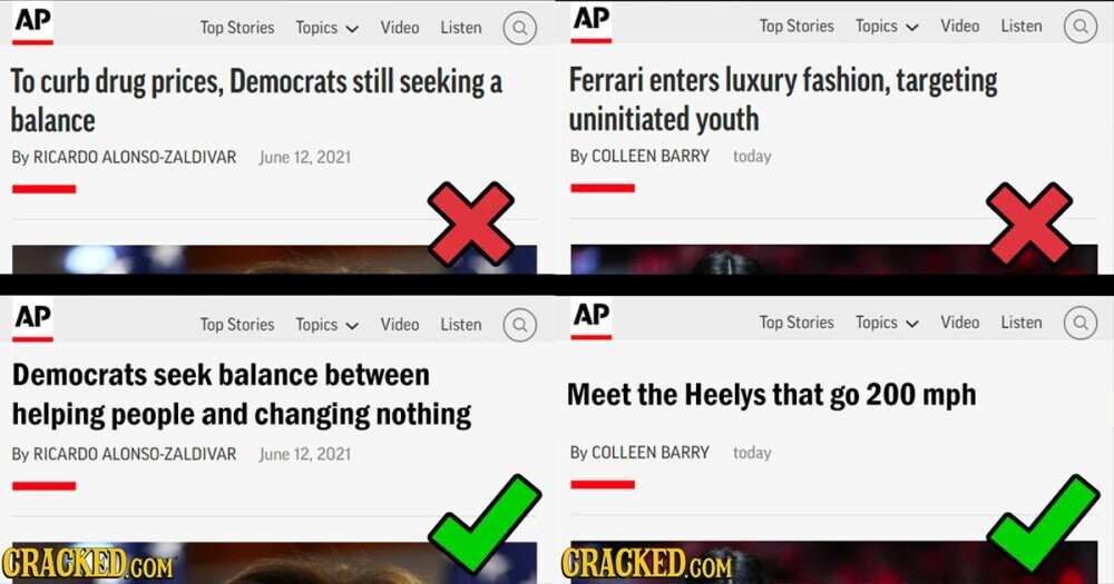 Honest Headlines: 15 Bits of News, Chopped and Screwed