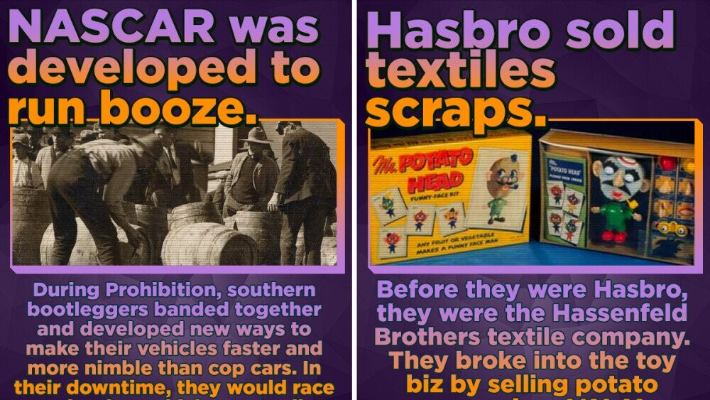 15 Companies Who Started Out Selling Wildly Different Stuff