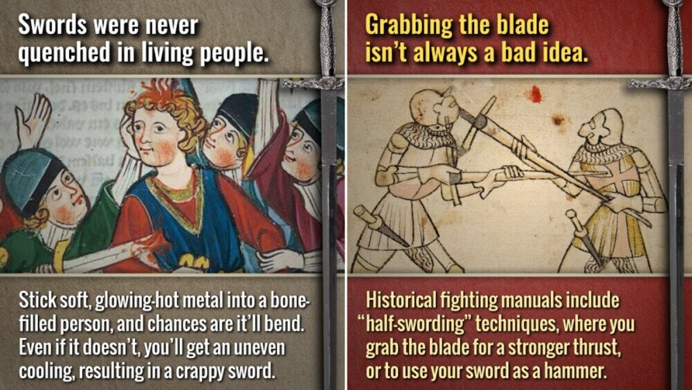 15 Lies About Swords You Probably Believe Because of Movies