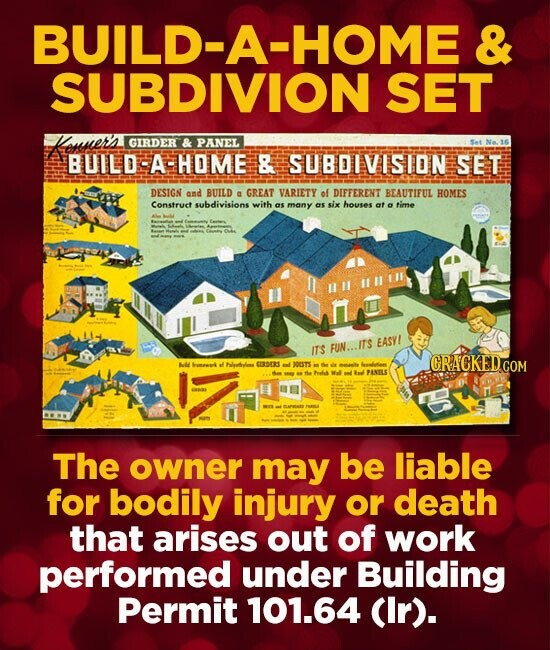 BUILD-A-HOME & SUBDIVION SET Mosers GIRDER & PANEL BUILD A HOME & SUBDIVISION SET DESIGN and BUILD GREAT VARIETY of DIFFERENT a BEAUTIFUL HOMES Constr