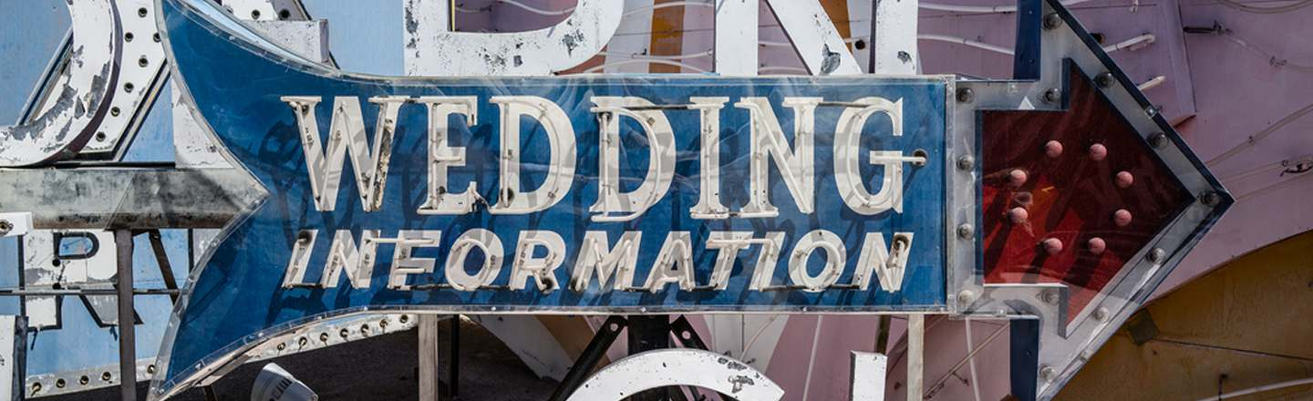 5 Bizarre Things You See Working At A Vegas Wedding Chapel
