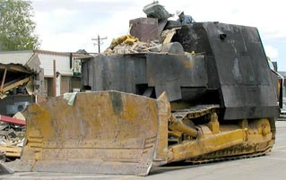 What It's Like When Your Town Is Attacked By A 'Killdozer'