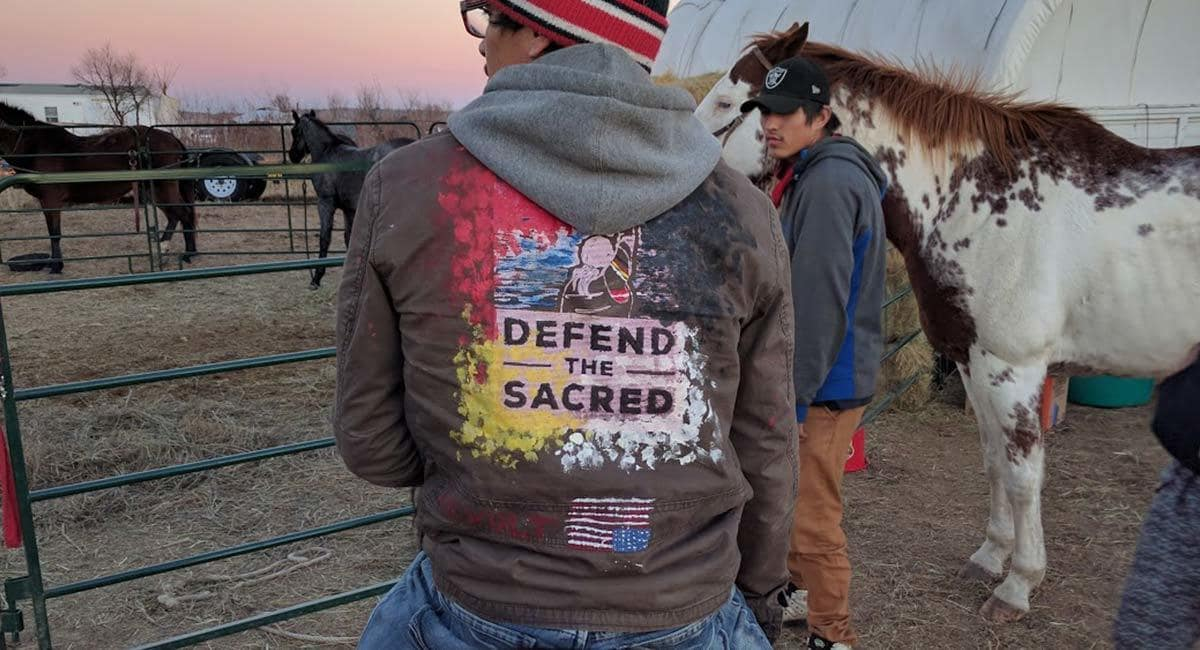 Signs Of A Creepy Government Conspiracy At Standing Rock