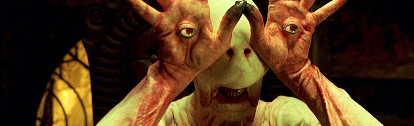 When CGI Won't Cut It: 6 Realities Of Being A Movie Monster