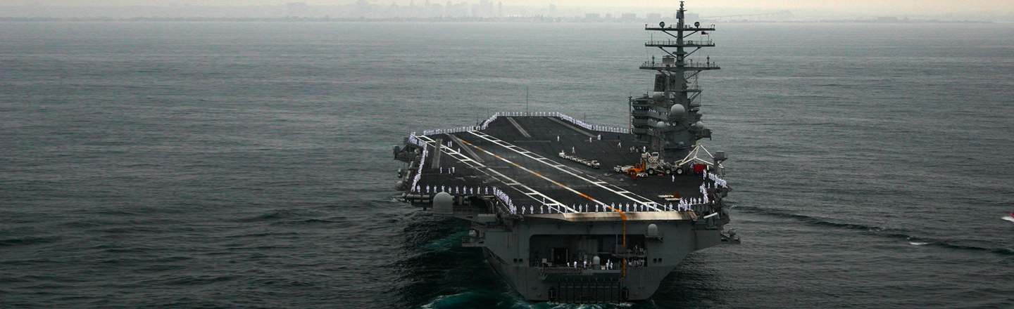 Everybody Is Fu**ing Each Other: Life On An Aircraft Carrier