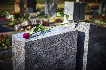 Flowers? Lay your test results at the grave next time if you want them to rest peacefully.