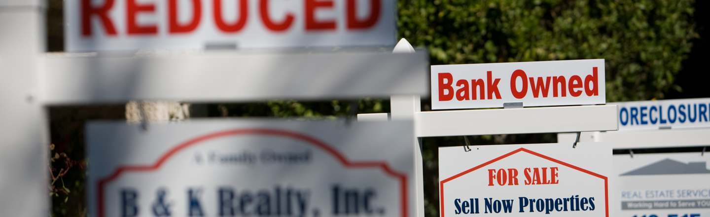 I Foreclose Houses For Banks: 5 Awful Realities