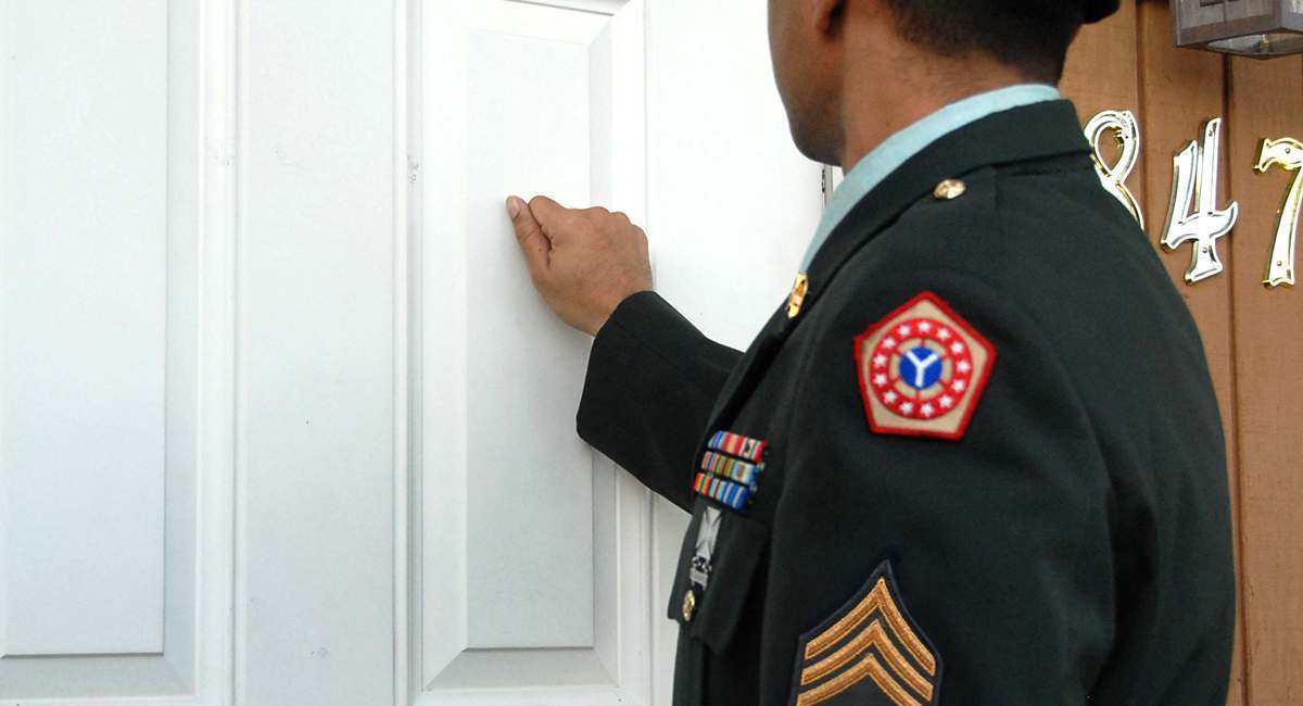 5 Things You See Notifying The Families Of Dead Soldiers