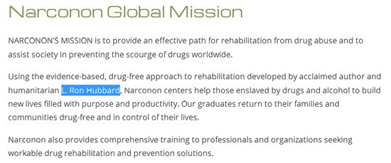 Healing Through Magic: Scientology's Drug Rehab Program
