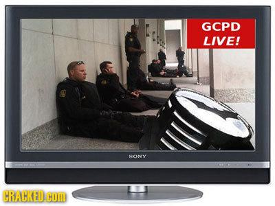 GCPD LIVE! SONY CRACKED COM