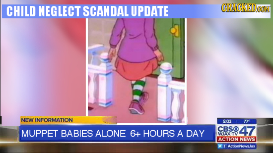 CHILD NEGLECT SCANDAL UPDATE RACKED.OOM NEW INFORMATION 503 77 CBSO MUPPET BABIES ALONE 6+ HOURS 47 A DAY WJAX-TV ACTION NEWS f ActionNewsJax